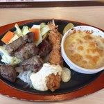 ジョイフル - 料理写真:プライムビーフサイコロコンボ 税抜899円