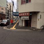 上海総本店 - 入り口(美味しそうな匂いがたまらなく、つい入ってしまう)
