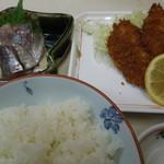 かご平 - 地鰺定食