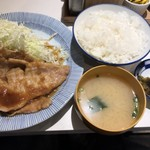 福与志 - 生姜焼き定食 850円