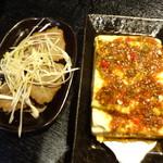 炭火焼肉香味苑 - 牛タンの醤油煮込み・韓国風冷やっこ