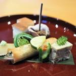 日本料理 たかむら - 八寸