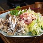 元祖 むらさき - きりたんぽ鍋の具