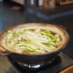 元祖 むらさき - きりたんぽ鍋