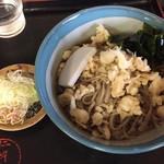 仁科庵 - 料理写真:冷やしたぬきそば   税込600円
