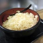麺家兵庫 - 天かす入れ放題です