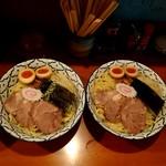 108794340 - 味噌つけ麺中盛&大盛