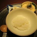赤坂 渡なべ - ご飯一式