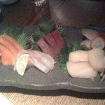 1088097 - おつくり。鮪、烏賊、蛸、鯖など