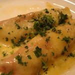 ライラック - ナスのサラミ巻 チーズのせ焼