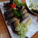 大衆酒蔵 日本海 - サバの唐揚げ ポン酢