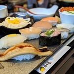 108801531 - 季節の上寿司&いくらの姫ちらし(季節の上寿司御膳)