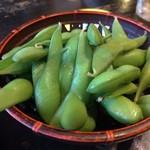 やきとりの扇屋 - 枝豆(食べ放題)