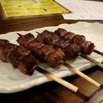 炭火焼鶏×デザート こてつ - 十勝豊西牛 カルビ串
