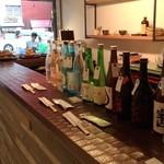 108803459 - 日本酒のラインナップが気になります
