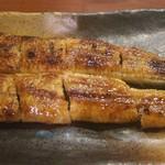籠ノ島 - 鰻かば焼き 1800円(税別)