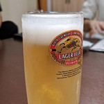 味園焼肉店 - 生ビール 中