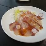 国技館 - 白身魚のカルパッチョ