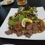 国技館 - 牛肉のソテー