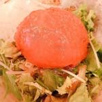 水炊き・焼鳥 とりいちず酒場 - トマトサラダ 湯剥き済み