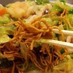 綿徳 - カリカリ麺リフト