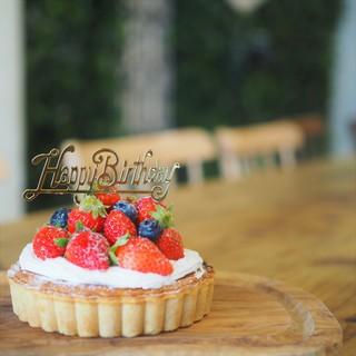 お祝いのケーキにこだわりたい!!選べるホールケーキ