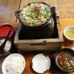 108809313 - どぜう鍋、ご飯、なめこ汁の単品オーダー