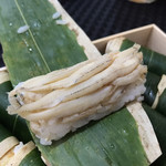 笹巻けぬきすし総本店 - 季節のネタ白魚