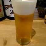 108814016 - セットのビール2杯付