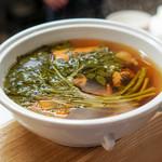 サエキ飯店 - 料理写真:クレソンの蒸しスープ