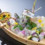 ホテル白菊 - Wグルメ 舟盛りイメージ