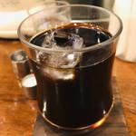 108816828 - ☆モーニング料金+30円でアイスコーヒーに変更。香りが鼻に抜けて美味しいアイスコーヒーでした。