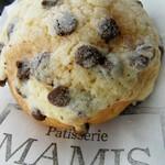 洋菓子とパンのアトリエ マミス - チョコチップ メロンパン