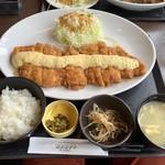 おおさかや - チキン南蛮定食(特大)1350円