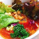 ラーメン東陽 - トマトつけ麺汁