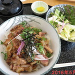 花どり - 名古屋コーチン焼鶏丼 \1000