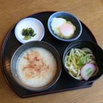 七宝 - 料理写真:モーニングセット 和食 ドリンク代のみ