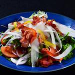 福亭 - ベーコンしゃきしゃき大根サラダ