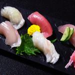 福亭 - 握り寿司盛合せ