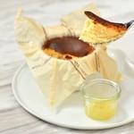 Basque cheesecake(バスクチーズケーキ)
