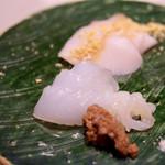 東京和食 りくう - マナガツオ、アオリイカ