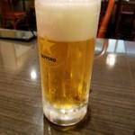 紅燈籠 - ドリンク写真:ビール