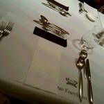 デュオ・フルシェット - テーブル