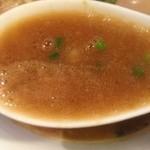 らーめん佳 - スープ