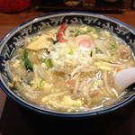 佐々木家 秋田本店 - 限定メニュー あんかけちゃんぽん 850円