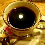 豊文堂書店 喫茶部 ラルゴ - ブレンドコーヒー(430円)