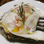 ビストロ クレスタ - 岡山県産 邑久の牡蠣        生牡蠣