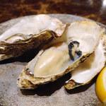 ビストロ クレスタ - 焼き牡蠣
