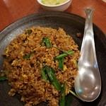 中国旬菜房 幸月 - 料理写真:肉みそラー油チャーハン 800円