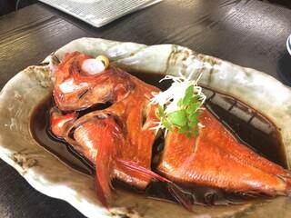 囲炉茶屋 - 金目鯛の煮付け